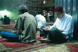Muslim Prayer in Indonesia