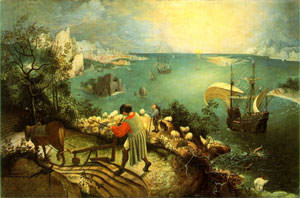 Breughel's 'Landscape with the Fall of Icarus'