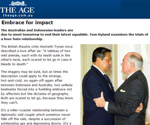 Embrace for impact