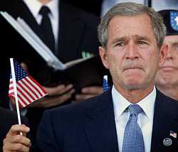 George W Bush flag