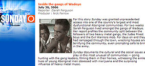 Letter: No white conspiracy in TV report on Wadeye youth gangs