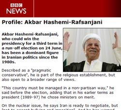 Hope for Iran in ascendancy of moderate Rafsanjani
