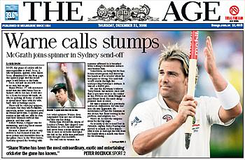 Warne's world of Hollywood and the modern Ashes