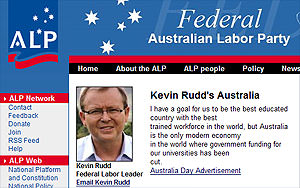 Howard's blowtorch applied to Rudd's belly