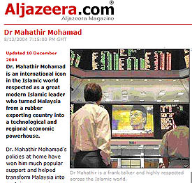 Mahathir Mohamad embraces human rights
