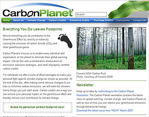 Individuals can offset their own carbon emissions
