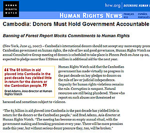 Anti-corruption measures eclipse human rights in Cambodia