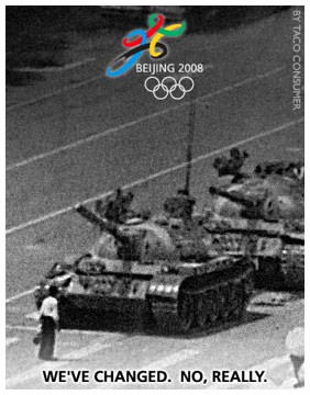 Journalism crackdown Beijing Olympics