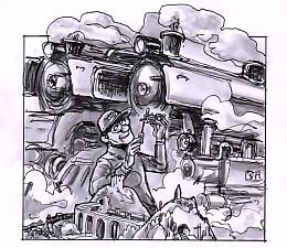 Railway Enthusiast - Chris Johnston