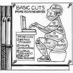 Chris Johnston - Prime Cuts of Writer