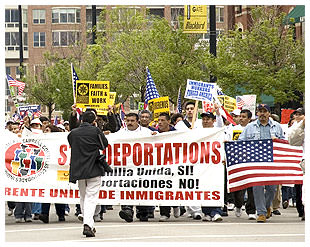 Immigration March