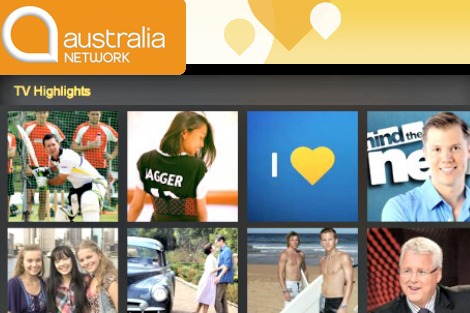 Australia Network highlights collage