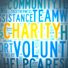 'Charity' word graphic