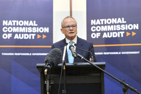 National Commission of Audit launch