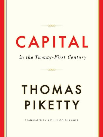 Thomas Piketty's book Capital in the 21st Century