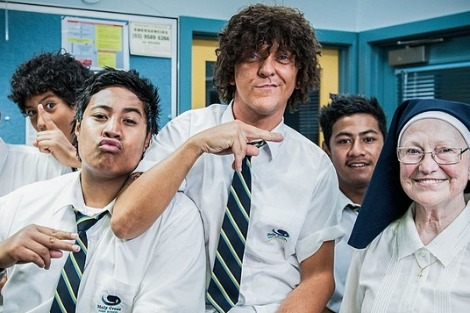 Chris Lilley as Jonah from Tonga