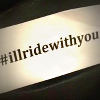 'I'll ride with you' poster