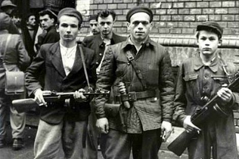 156 Hungarian Uprising Resistance Fighters