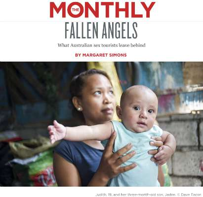 The Monthly 'Fallen Angels' photo