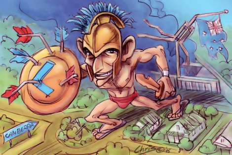 Tony Abbott the Warrior by Chris Johnston