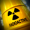 Radioactive waste barrel