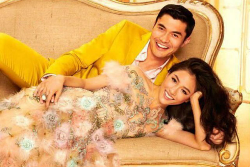 Publicity shot from Crazy Rich Asians