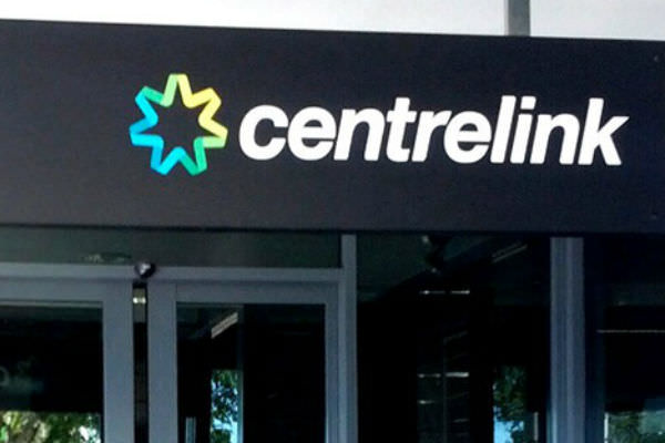 Centrelink sign (Getty Images)