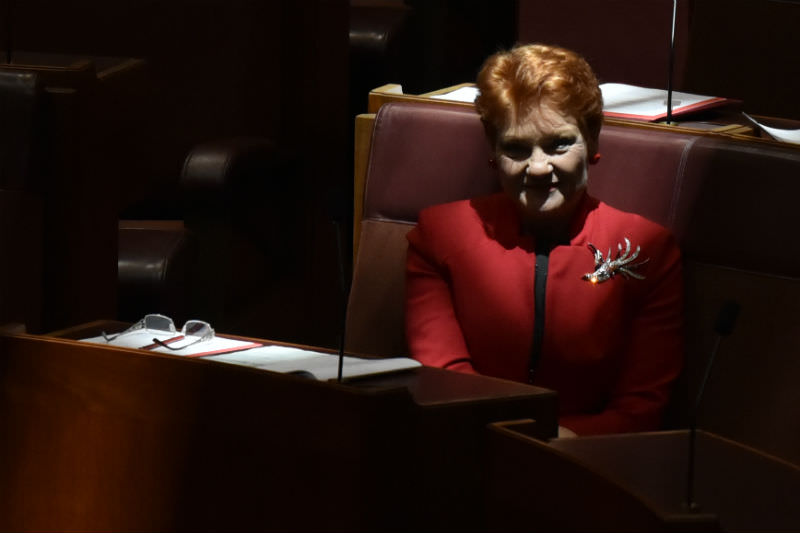 Senator Pauline Hanson (Photo by Michael Masters/Getty Images)