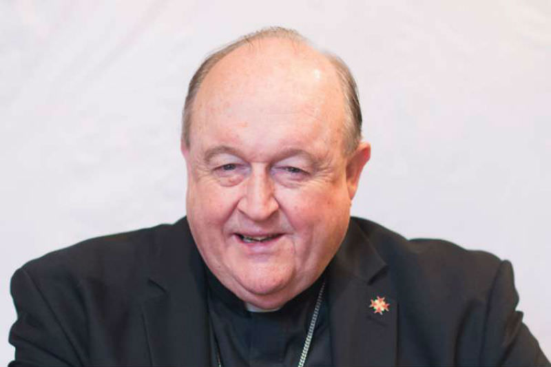Philip Wilson, pictured prior to his resignation as Archbishop of Adelaide