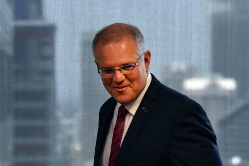 Scott Morrison arrives to speak at the Australian Institute on 15 December 2018 in Sydney. Morrison announced that the Australian government will recognise West Jerusalem as the capital of Israel. (Mick Tsikas-Pool/Getty Images)
