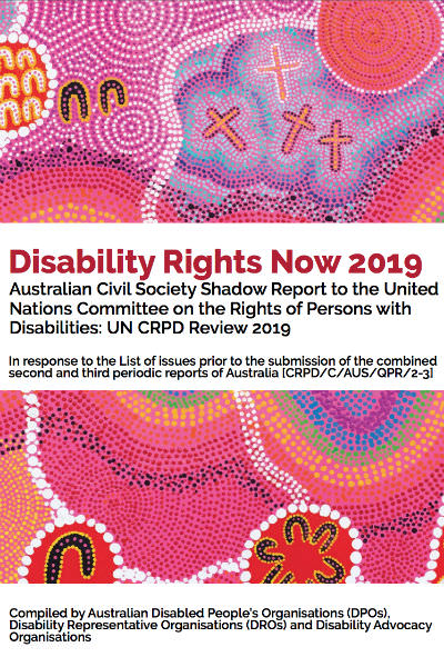 Disability Rights Now 2019