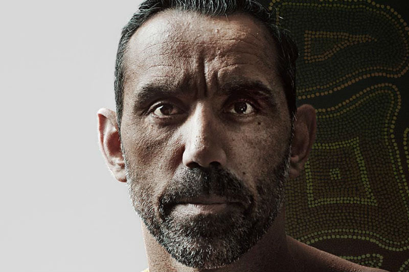 Adam Goodes 'The Australian Dream' promotional image