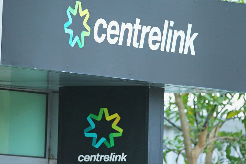 Outside of a Centrelink office (Scott Barbour/Getty images)