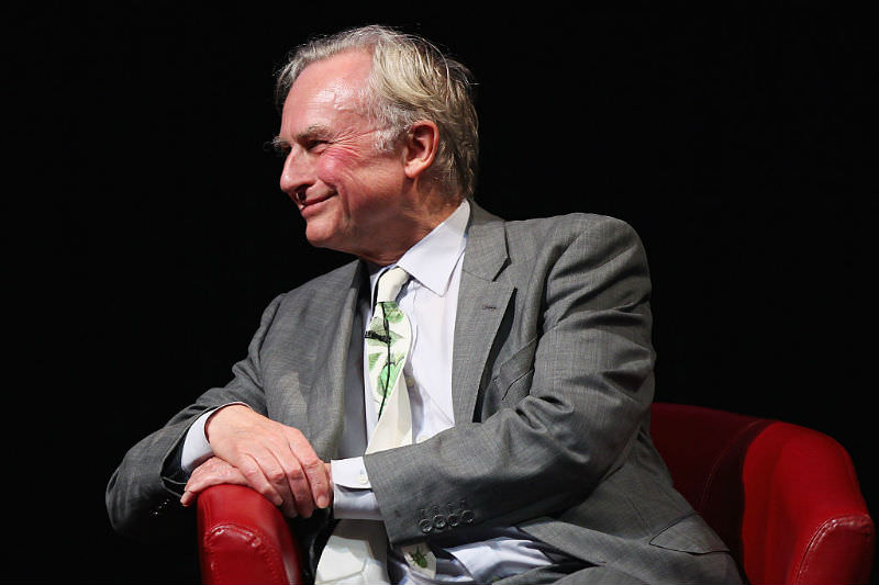 Richard Dawkins in Sydney promoting his book (Getty Images/Don Arnold)