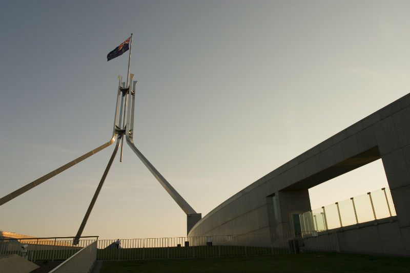 Parliament House Canberra (Getty Images/timstarkey)