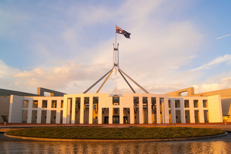 Parliament House Canberra (Getty images/kokkai)