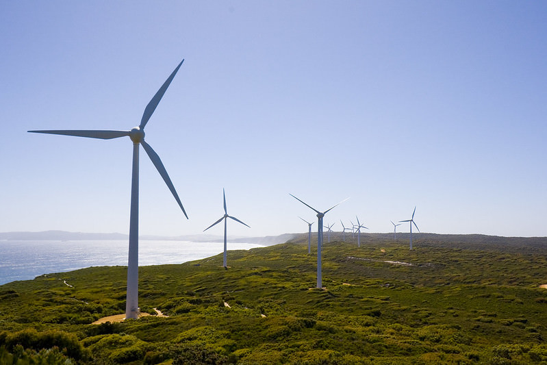 Albany WA wind farm (Flickr/Lawrence Murray)