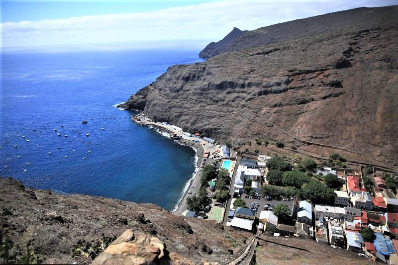 St Helena Island (Photo by Catherine Marshall)