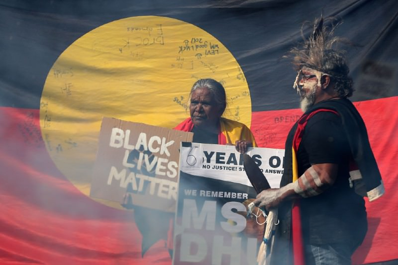 Perth Black Lives Matter Protest (Paul Kane/Getty Images)
