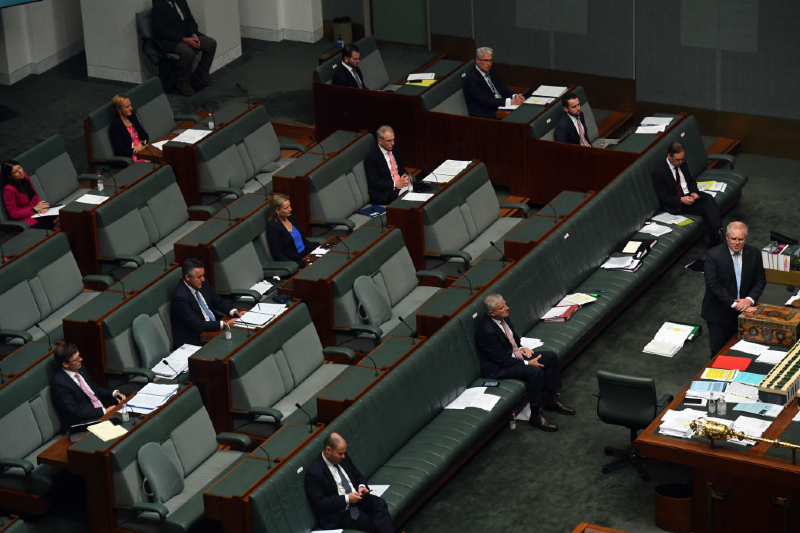 Lower house federal parliament (Sam Mooy/Getty Images)