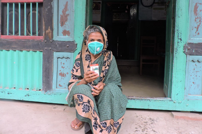 Main image: Woman impacted by COVID-19 in Bangladesh. Photo Caritas Bangladesh
