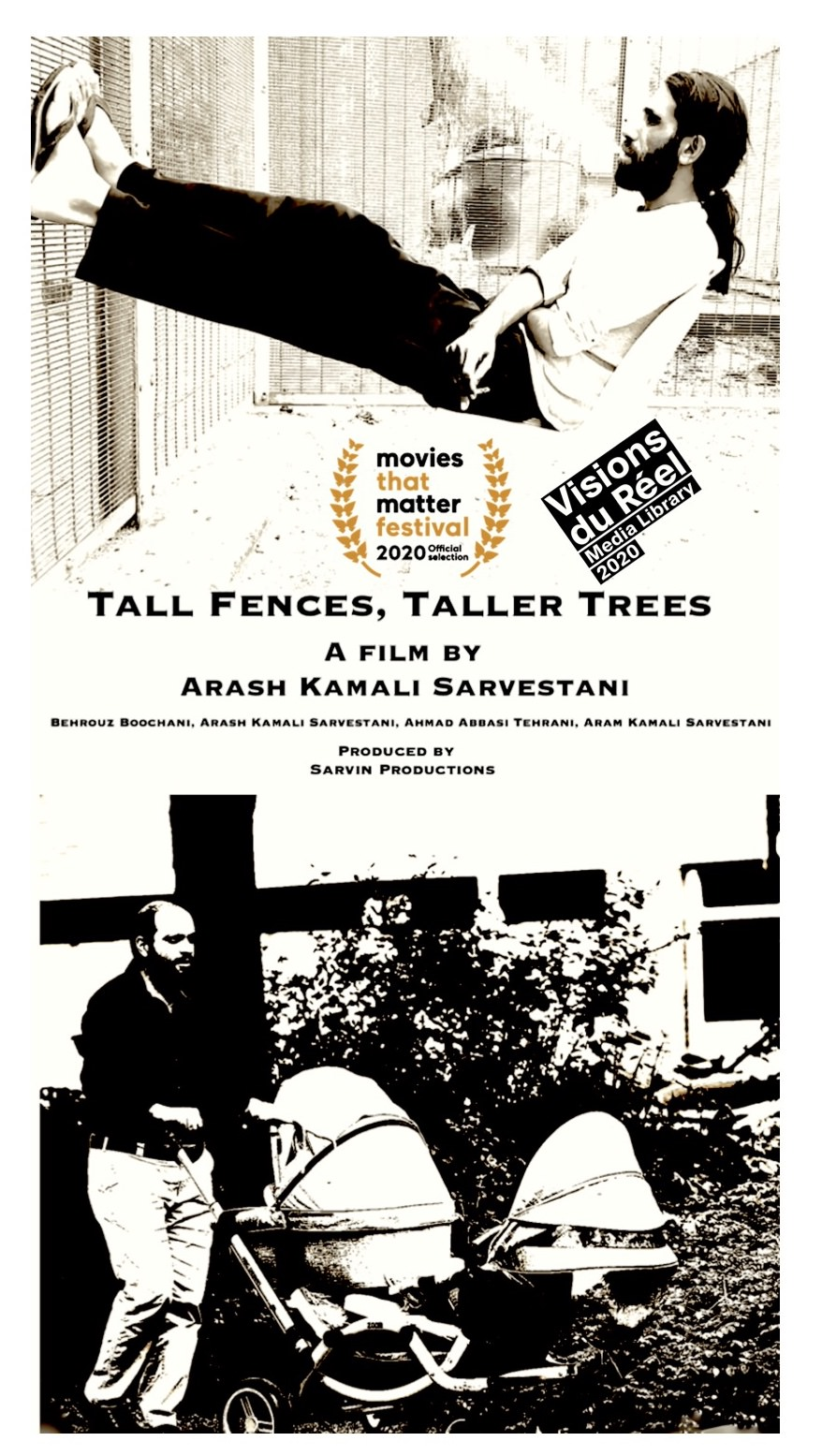 Main image: Film poster Tall Fences, Taller Trees Sarvin Productions/Visions du Réel