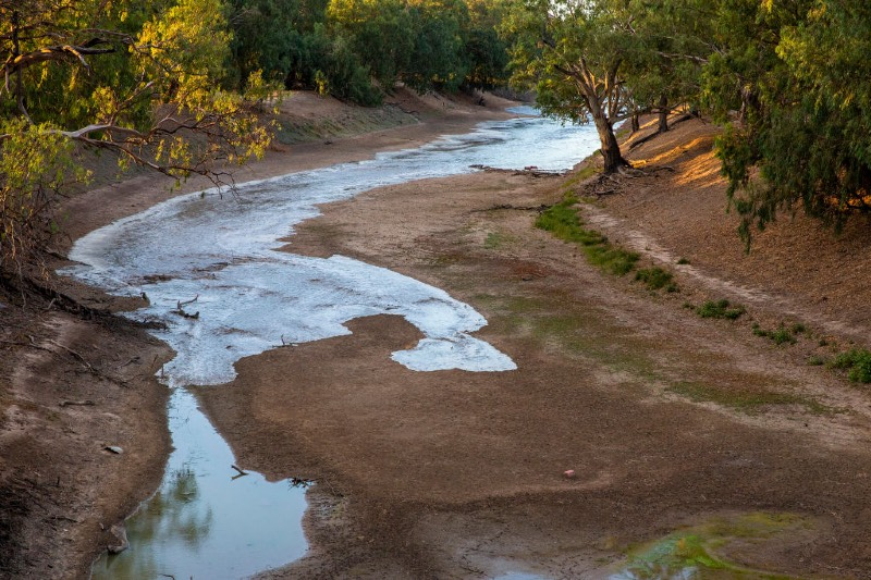 Main image: New flow in the Barka Darling river (Jenny Evans/Getty Images)