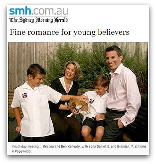 Kristina Keneally and Family
