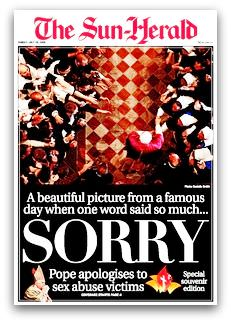 Papal Apology - The Sun-Herald