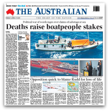 Deaths raise boatpeople stakes