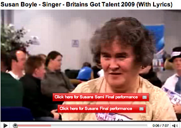 Susan Boyle - CLICK TO VIEW