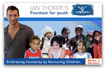 Ian Thorpe's Fountain for Youth