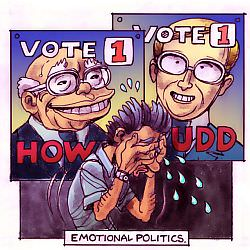Emotional Politics by Chris Johnston
