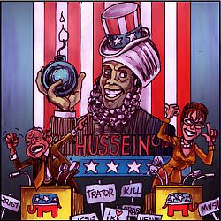 'Obama Hussein' by Chris Johnston